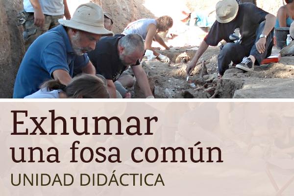 Exhumar fosa común